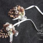 ドイツ流木の実飾りの松かさのアンヘンクゼル